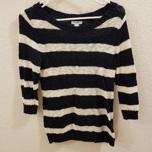 ON Striped Knit Sweater